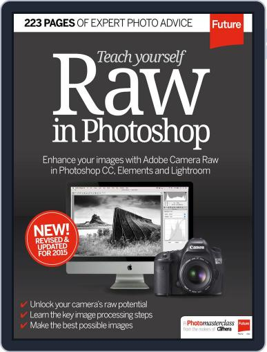 Teach Yourself RAW in Photoshop September 24th, 2015 Digital Back Issue Cover