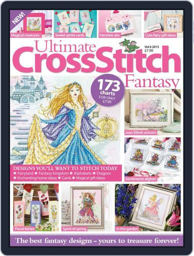 Ultimate Cross Stitch Fantasy May 1st, 2016 Digital Back Issue Cover