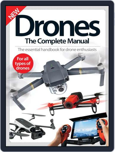 Drones The Complete Manual October 31st, 2016 Digital Back Issue Cover