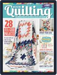 Weekend Quilting Magazine (Digital) Subscription May 1st, 2016 Issue