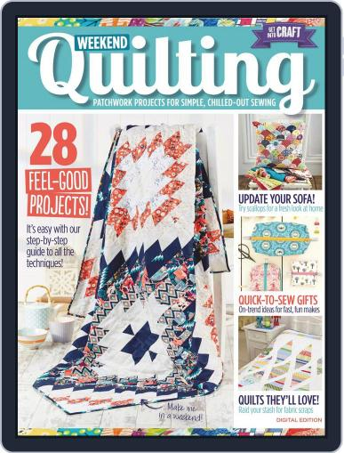 Weekend Quilting May 1st, 2016 Digital Back Issue Cover
