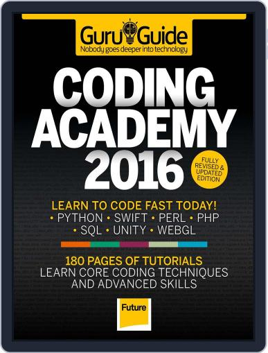 Coding Academy 2015 May 1st, 2016 Digital Back Issue Cover