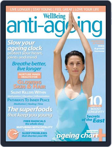 WellBeing Anti-Ageing October 20th, 2011 Digital Back Issue Cover