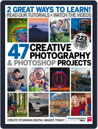 47 Creative Photography & Photoshop Projects August 19th, 2014 Digital Back Issue Cover