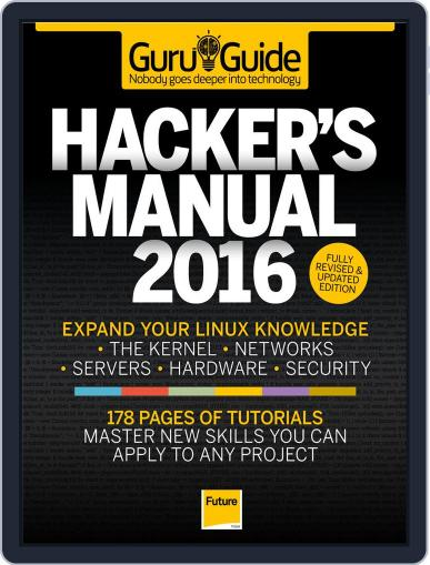 The Hackers Manual 2015 October 27th, 2015 Digital Back Issue Cover