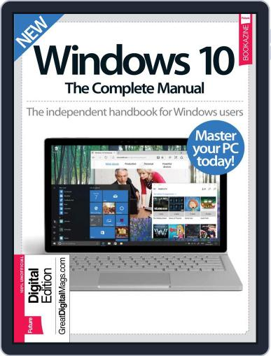 Windows 10 The Complete Manual March 1st, 2017 Digital Back Issue Cover