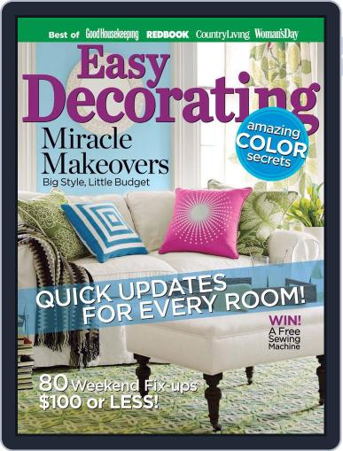 Easy Decorating Ideas July 3rd, 2012 Digital Back Issue Cover