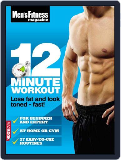 Men's Fitness 12 Minute Workout April 13th, 2011 Digital Back Issue Cover