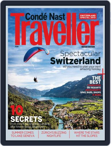 Conde Nast Traveller India - Swiss Special Issue May 7th, 2013 Digital Back Issue Cover