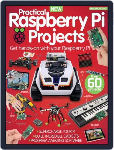 Practical Raspberry Pi Projects August 1st, 2016 Digital Back Issue Cover