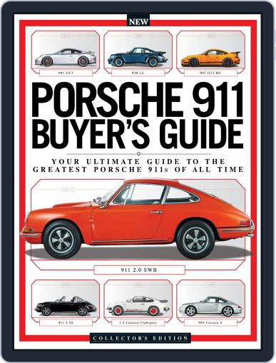 Porsche 911 Buyer's Guide January 1st, 2017 Digital Back Issue Cover