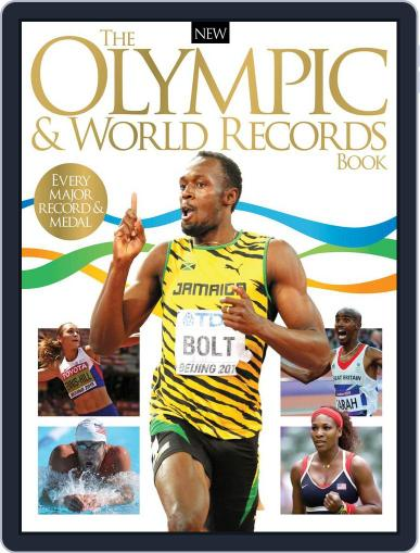 The Olympic & World Records Book June 8th, 2016 Digital Back Issue Cover