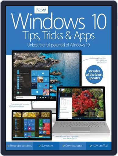 Windows 10 Tips, Tricks & Apps December 1st, 2016 Digital Back Issue Cover