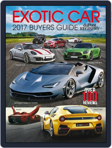 Exotic Car Buyers Guide September 1st, 2016 Digital Back Issue Cover