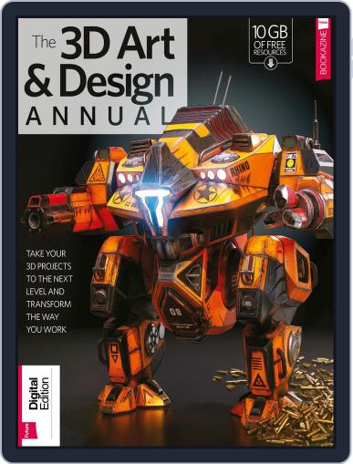 The 3D Art & Design Annual Volume 1 December 14th, 2017 Digital Back Issue Cover