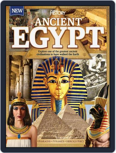 All About History Book Of Ancient Egypt December 1st, 2016 Digital Back Issue Cover