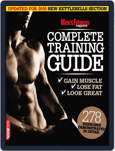 Men's Fitness Complete Training Guide 2nd edition April 14th, 2011 Digital Back Issue Cover
