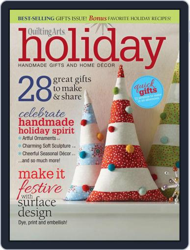 Quilting Arts Holiday August 26th, 2015 Digital Back Issue Cover