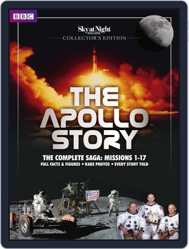 Sky at Night Magazine presents The Apollo Story October 2nd, 2014 Digital Back Issue Cover