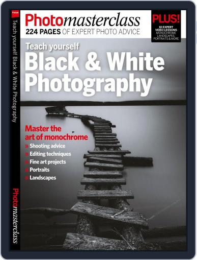 Teach yourself Black & White Photography March 1st, 2017 Digital Back Issue Cover