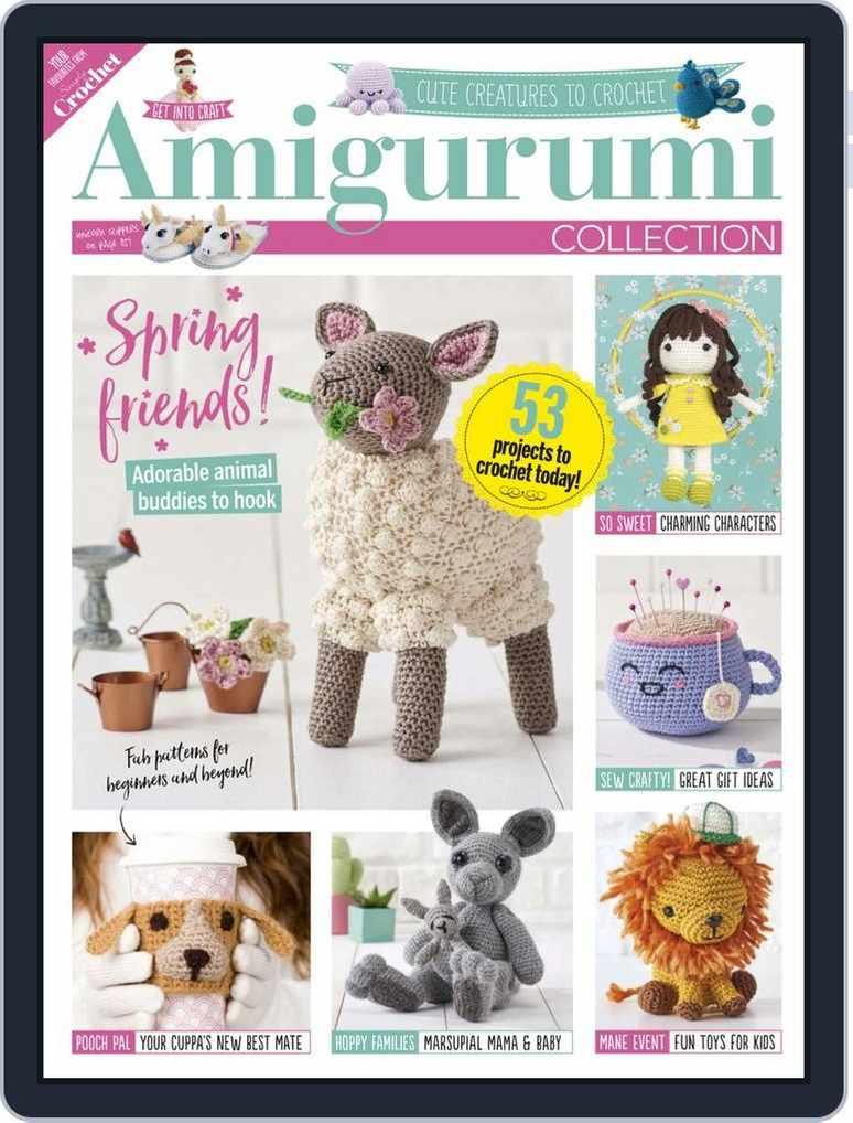 Ravelry: Total Crochet Amigurumi Made Easy No. 3 - patterns | 1018x774