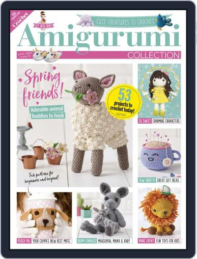 Amigurumi Collection February 13th, 2020 Digital Back Issue Cover
