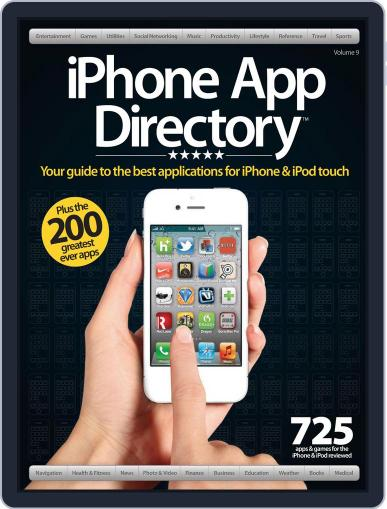 iPhone App Directory Vol. 9 April 1st, 2012 Digital Back Issue Cover