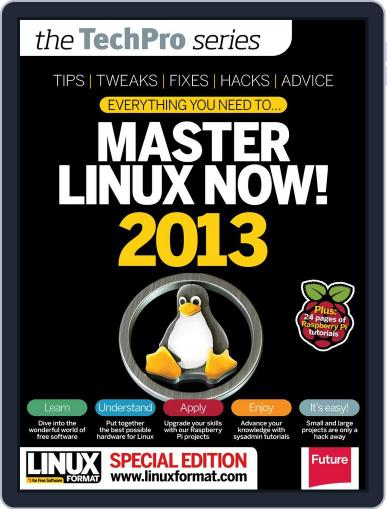 Master Linux 2013 February 19th, 2013 Digital Back Issue Cover