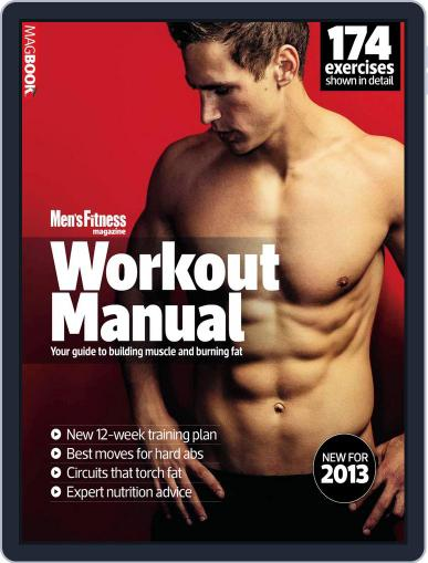 Mens Fitness Workout Manual 2013 February 18th, 2013 Digital Back Issue Cover