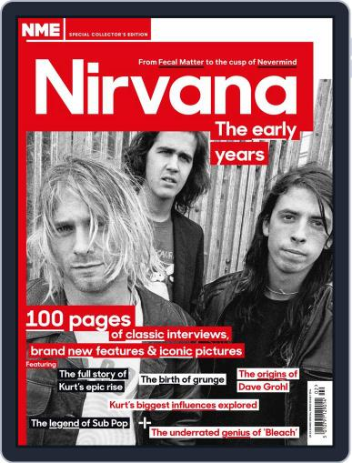 NME Special Collectors' Magazine - Nirvana February 12th, 2014 Digital Back Issue Cover