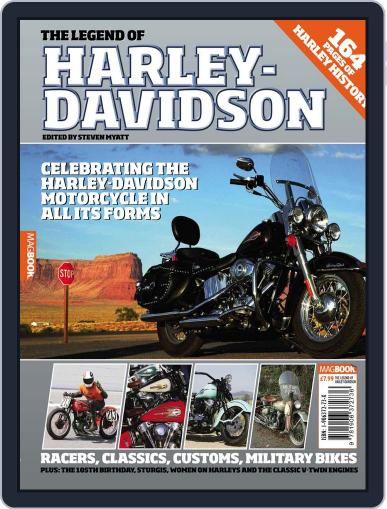 The Legend of Harley Davidson February 1st, 2010 Digital Back Issue Cover