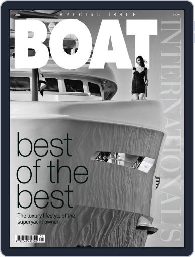 Boat International's Best of the Best June 2nd, 2014 Digital Back Issue Cover