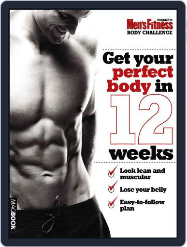 Men's Fitness Body Challenge April 13th, 2011 Digital Back Issue Cover