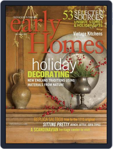 Early Homes October 24th, 2017 Digital Back Issue Cover