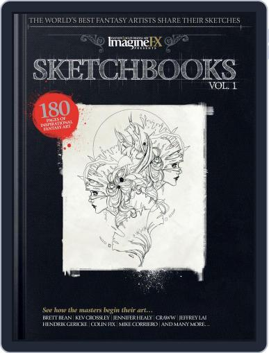 Sketchbooks March 1st, 2016 Digital Back Issue Cover