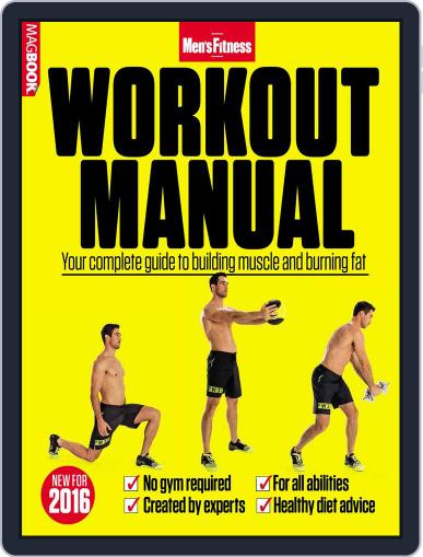 Men's Fitness Workout Manual March 1st, 2016 Digital Back Issue Cover