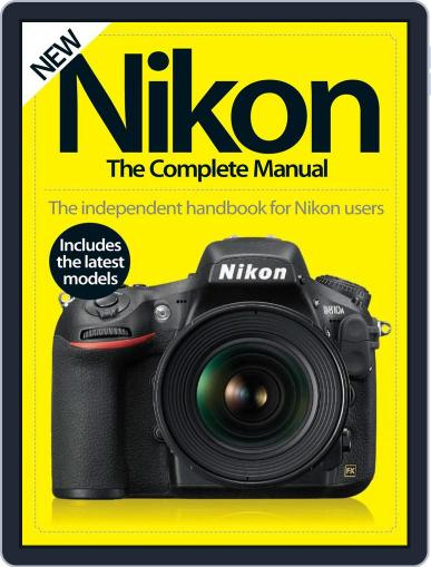Nikon The Complete Manual September 1st, 2016 Digital Back Issue Cover