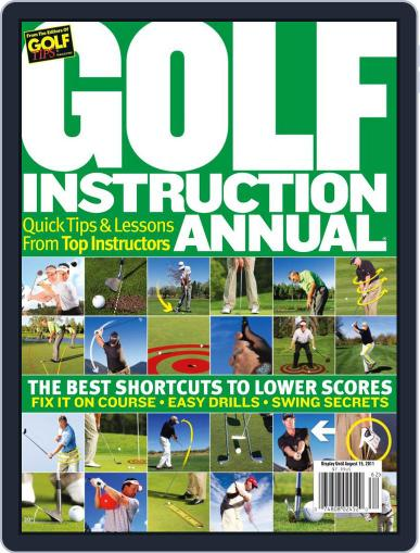 Golf Instruction Annual July 1st, 2011 Digital Back Issue Cover