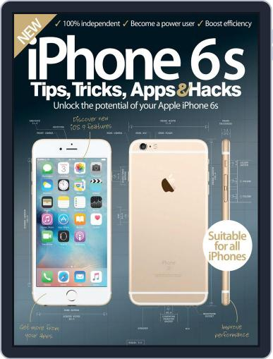 iPhone Tips, Tricks, Apps & Hacks January 1st, 2016 Digital Back Issue Cover