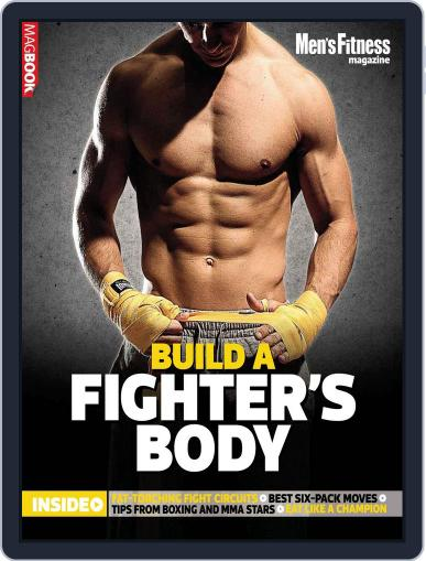 Men's Fitness Build a Fighter's Body October 3rd, 2016 Digital Back Issue Cover