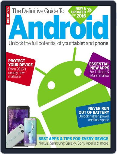 The Definitive Guide to Android January 1st, 2016 Digital Back Issue Cover