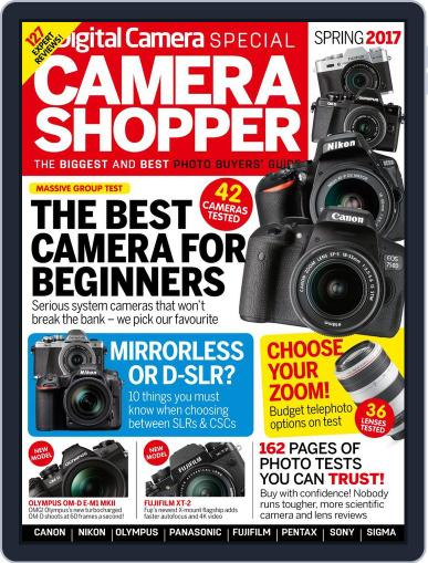 Camera Shopper Special March 1st, 2017 Digital Back Issue Cover