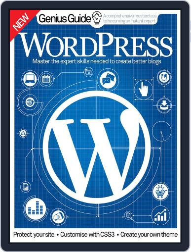 Wordpress Genius Guide October 20th, 2016 Digital Back Issue Cover