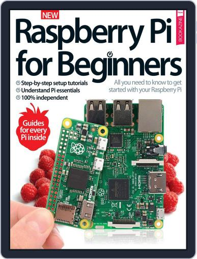 Raspberry Pi for Beginners March 1st, 2017 Digital Back Issue Cover