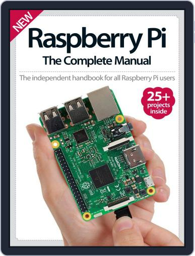 Raspberry Pi The Complete Manual November 1st, 2016 Digital Back Issue Cover