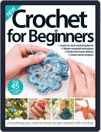 Crochet For Beginners October 1st, 2016 Digital Back Issue Cover
