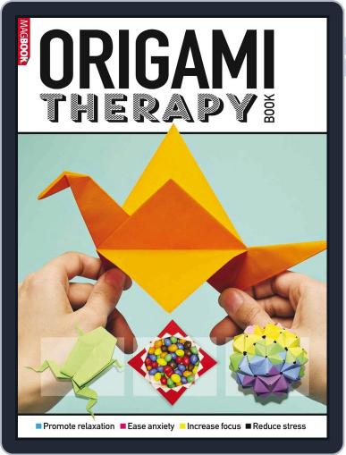 Origami Therapy Book July 1st, 2016 Digital Back Issue Cover