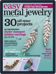 Easy Metal Jewelry Magazine (Digital) Subscription June 15th, 2015 Issue