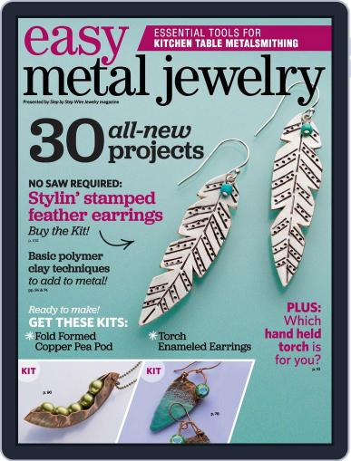 Easy Metal Jewelry June 15th, 2015 Digital Back Issue Cover