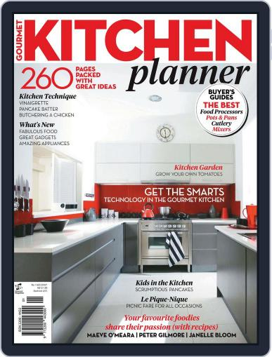 Gourmet Kitchen Planner July 26th, 2012 Digital Back Issue Cover